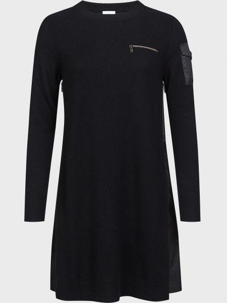 Шерстяное платье - черное Bogner