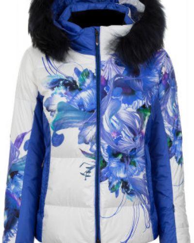 Куртка с капюшоном горнолыжная спортивная Descente