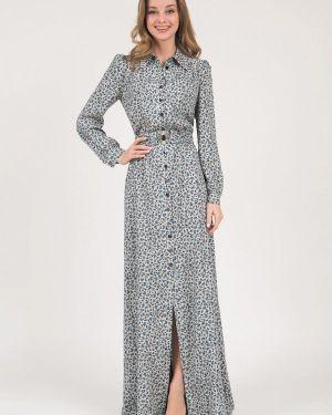 Летнее платье серое весеннее Marichuell