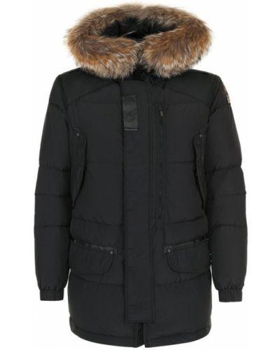 Куртка с капюшоном пуховая на молнии Parajumpers