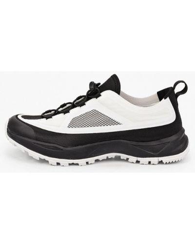 Кожаные белые кроссовки Luhta