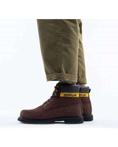 Кожаные черные ботинки с подкладкой Caterpillar