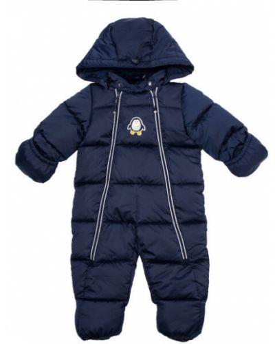 Зимний комбинезон флисовый с капюшоном Playtoday Newborn