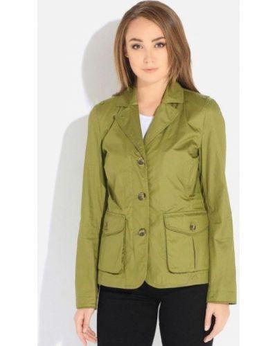 Зеленая водонепроницаемая куртка Geox