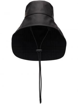 Панама с завязками - черная Burberry