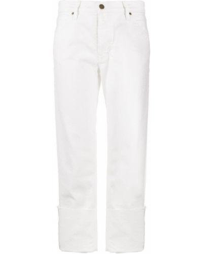 Джинсы классические - белые Mih Jeans