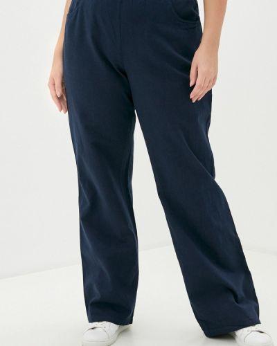Синие прямые брюки Ulla Popken