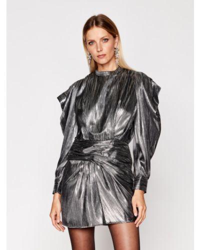 Sukienka srebrna Iro