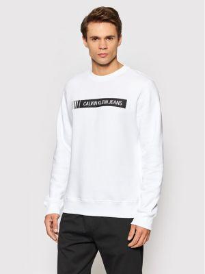 Bluza - biała Calvin Klein Jeans