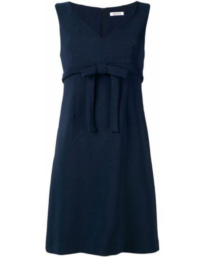 Вечернее платье деловое с V-образным вырезом P.a.r.o.s.h.