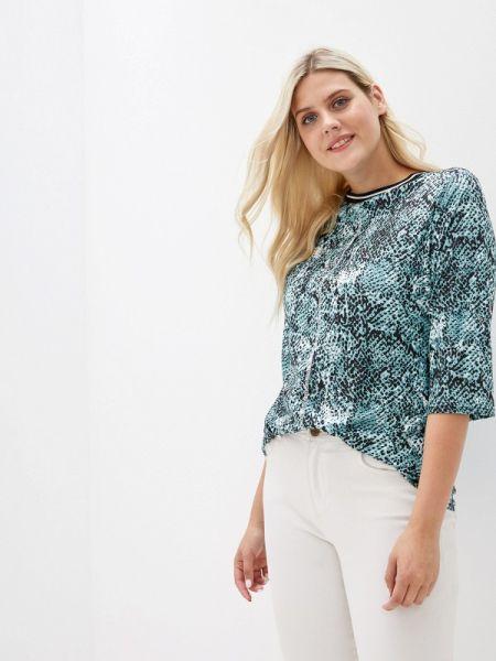 Блузка с длинным рукавом зеленый осенняя Milanika