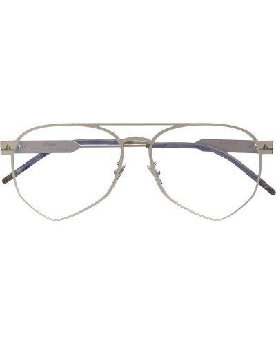 Okulary srebrne khaki So.ya