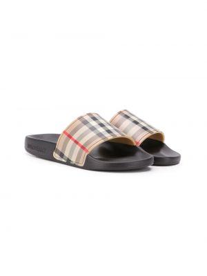 Шлепанцы для обуви Burberry Kids