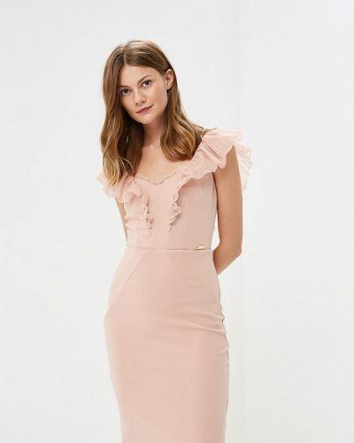 Платье осеннее розовое Love Republic