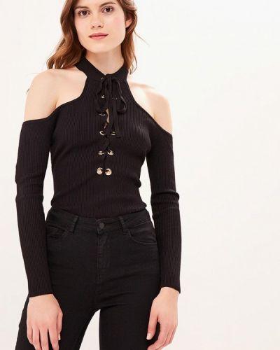 Боди блуза черное Zeza