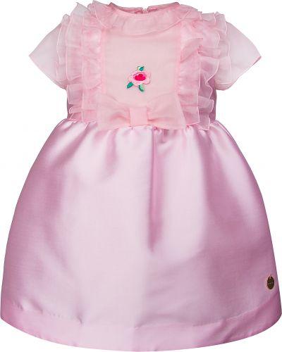Платье из полиэстера - розовое Simonetta