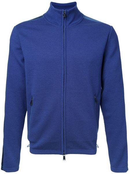 Niebieski kardigan wełniany Kent & Curwen