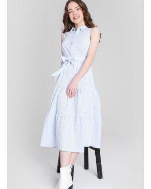 Платье миди макси в полоску Ostin