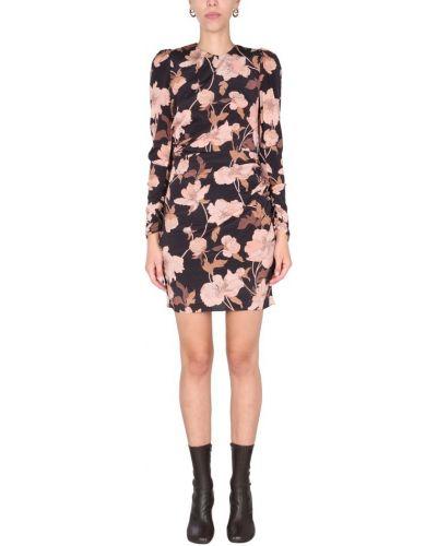 Czarna sukienka mini Zimmermann