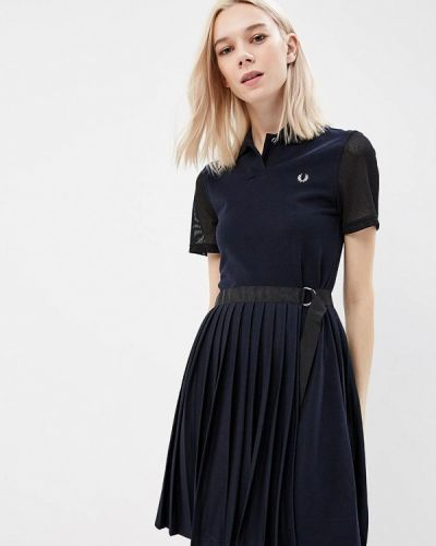 Платье весеннее синее Fred Perry