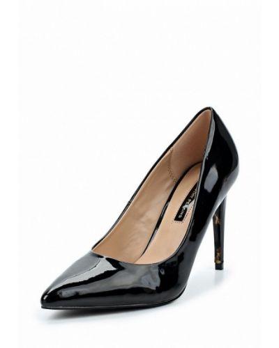 Туфли-лодочки кожаные на каблуке Dorothy Perkins