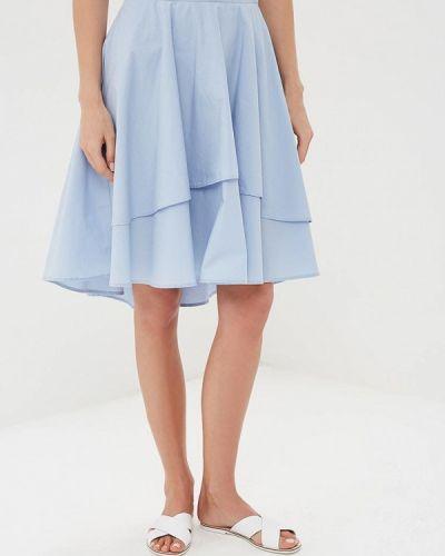 Голубая юбка весенняя Naf Naf