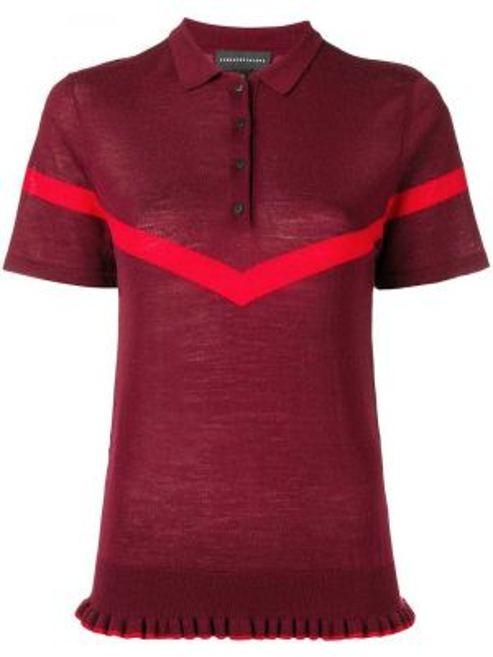Рубашка с коротким рукавом - красная Cashmere In Love