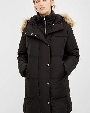 Черная зимняя куртка Springfield
