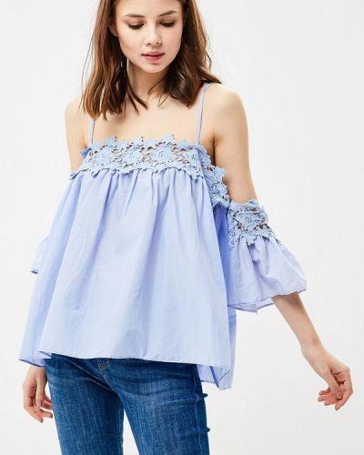 Блузка - голубая Moni&co