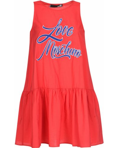 Платье из вискозы весеннее Love Moschino