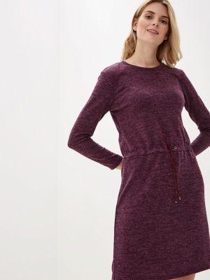 Платье осеннее фиолетовый Tenerezza