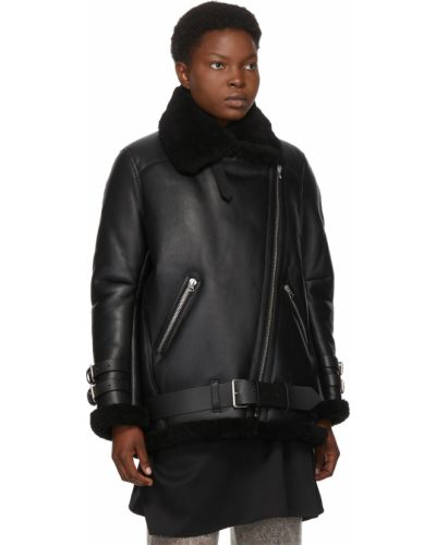Куртка авиатор - черная Acne Studios