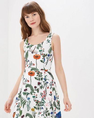 Платье - белое Modis