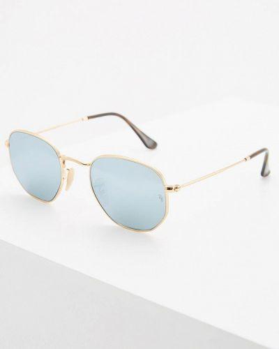 Солнцезащитные очки прямоугольные квадратные Ray-ban