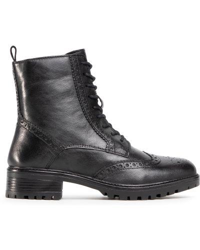 Кожаные ботинки - черные Sergio Bardi