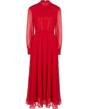 Платье шелковое расклешенное Miss Sixty