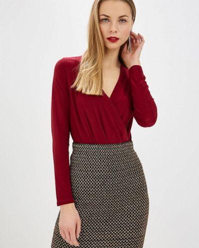 Боди блуза бордовый Trendyangel