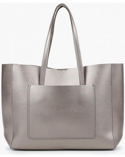 Кожаный сумка золотого цвета Jennyfer