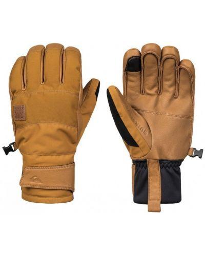 Коричневые перчатки Quiksilver
