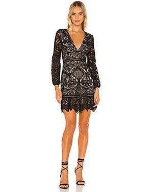 Платье мини на молнии ажурное Bb Dakota