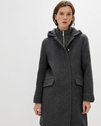 Серое пальто Gerard Darel