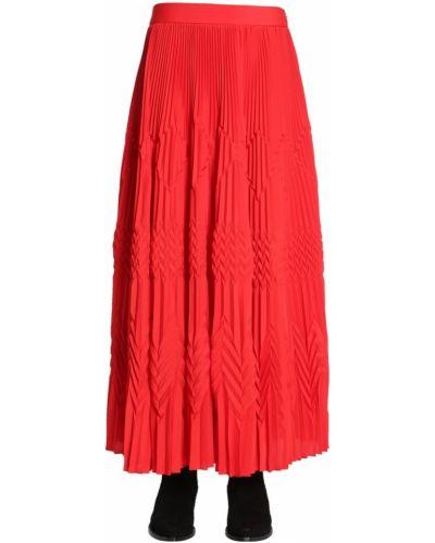 Czerwona spódnica maxi Givenchy