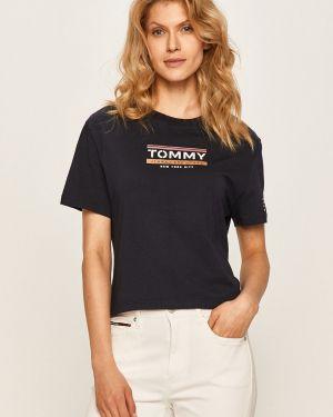 Top luźny z wzorem Tommy Jeans
