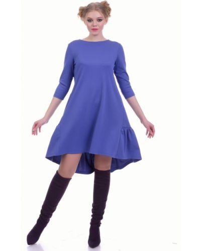 Платье миди платье-сарафан из вискозы Lautus