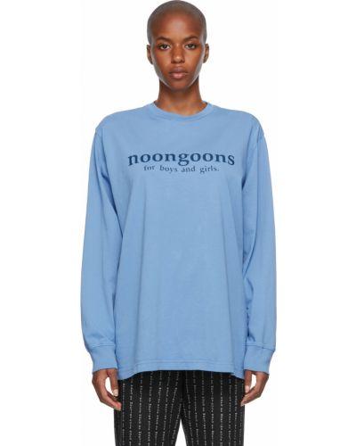 Czarna koszulka z długimi rękawami Noon Goons