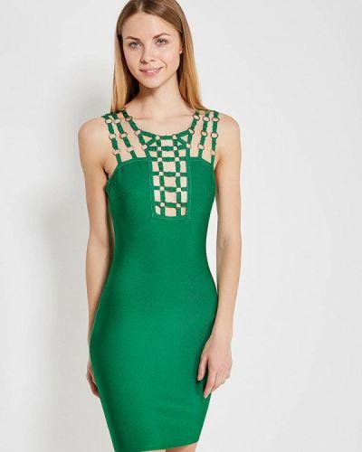 Платье зеленый Paccio