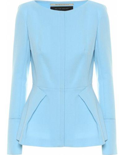 Синяя куртка Roland Mouret