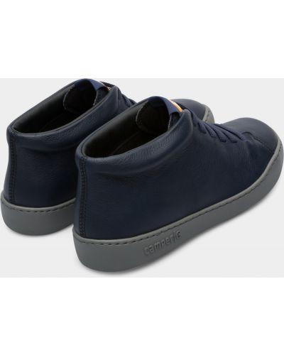 Синие ботинки Camper