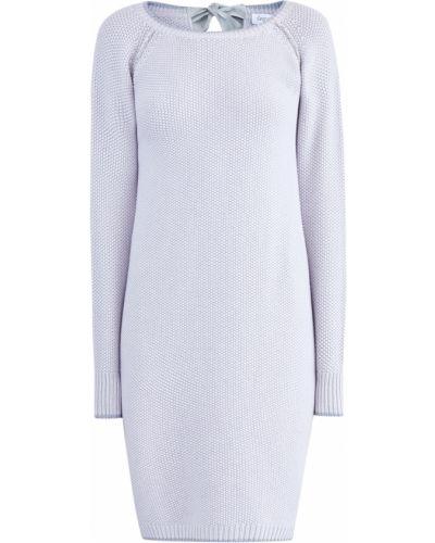 Платье в полоску с люрексом Gran Sasso