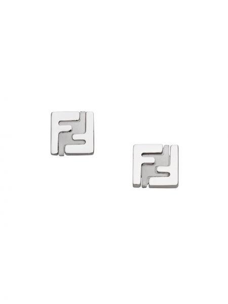 Серьги набор с логотипом Fendi